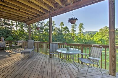 Stunning mountain views await you at this Hendersonville vacation rental apt!