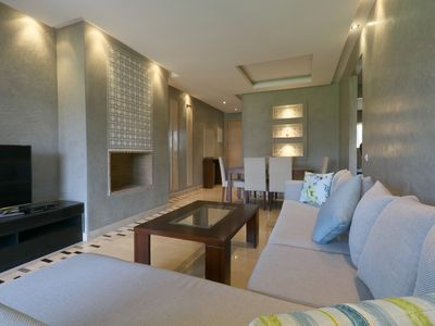 Photo for Beautiful apartment on golf course in the heart of Marrakech