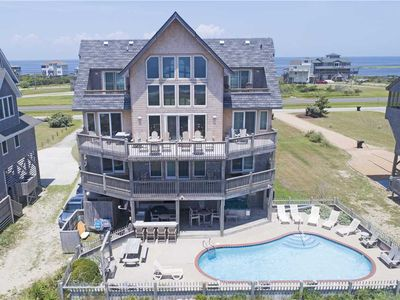 Photo for Statuesque Oceanfront Escape W/Beach Boardwalk, Pool, Hot Tub, Game Rm, Media Rm