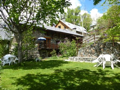 Photo for the village of Oisans à15mn cottage 6 people near jardin150m² Alpe d'Huez valley view
