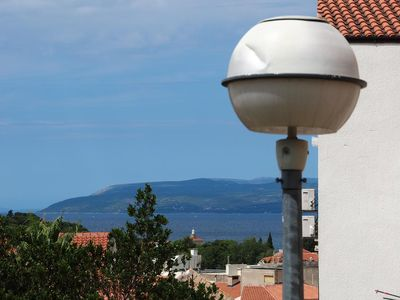 Photo for One bedroom apartment with balcony and sea view Makarska (A-15173-a)