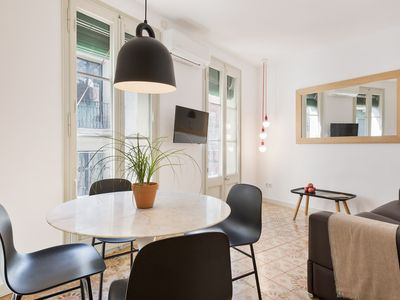 Photo for Bright and modern apartment in the city center
