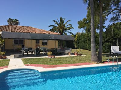 Photo for Lovely villa with garden and swiming pool