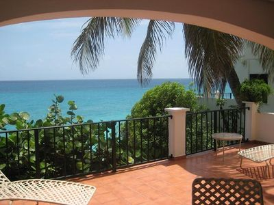 1st Floor Patio view of the Caribbean