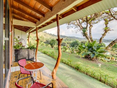 Photo for Dog-friendly Arenal cabana w/ lake views, shared pools, & an on-site restaurant