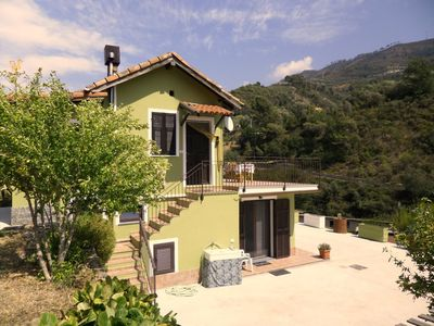 Photo for Nice two-room apartment in a detached house in the green countryside 6 km from the sea