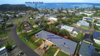 Photo for Brand New 4 Bedroom, With A/C, Steps To Hukilau Beach