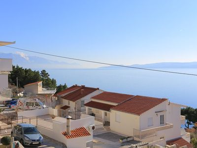 Photo for Two bedroom apartment with terrace and sea view Stanići, Omiš (A-2764-a)