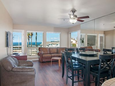 Photo for SUPER FAMILY  VACATION CONDO -- 3 Bedroom  Oceanfront with Heated pool
