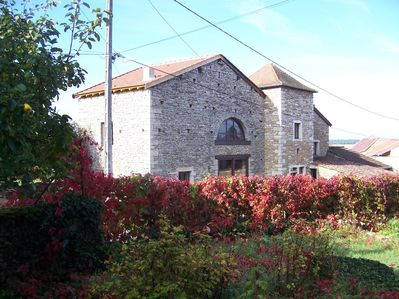 Photo for Near Taize-4 kms -'LE TINAILLER'  Character Stone House-8 Sleeps