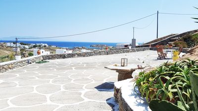 Photo for 2 bdrm Sea View Residence Paraga and Scorpios ( Mykonos )