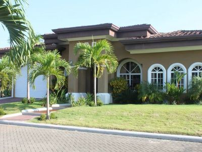 Photo for Family Friendly 3 bdrm, 3 bath home-private pool & close proximity to the beach.