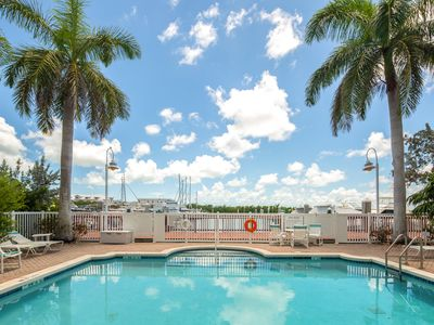 Photo for NEW! ~ COCONUT COTTAGE ~ Waterfront Condo w/ Pool, Hot Tub & Great Views!