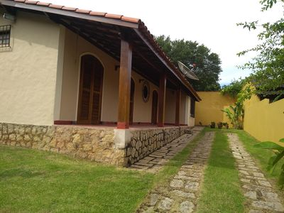 Photo for PROMOTIONAL PRICES! BEAUTIFUL AND COMFORTABLE HOUSE WITH BARBECUE NEXT TO THE BEACH