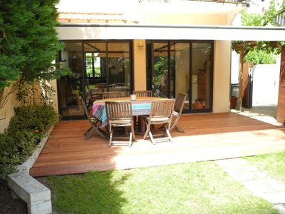 """Photo for Typical """"Arcachonnaise"""" with secluded garden  - 6 persons"""