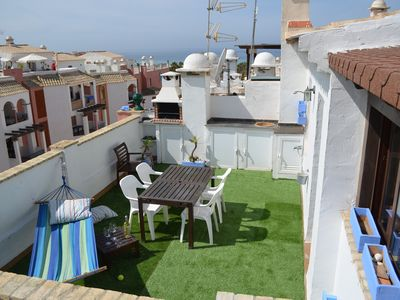 Photo for PENTHOUSE WITH SEA VIEW + WIFFI + PARKING
