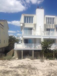 Photo for Beach house situated on beach with unobstructed view