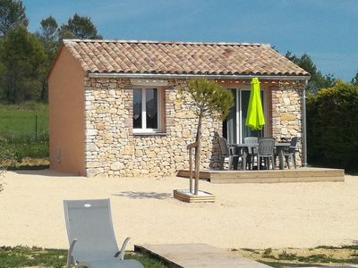 Photo for Gite The air-conditioned olive grove with heated pool