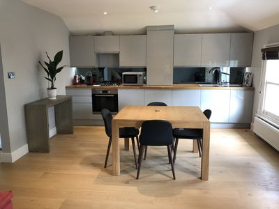 Photo for Newly refurbished flat in leafy Wimbledon