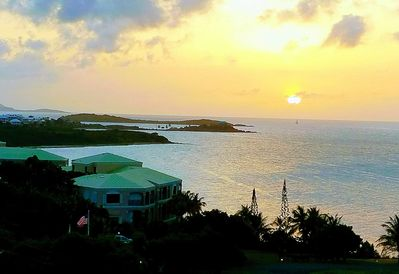 Watch the sun set over the Caribbean Sea from your gallery