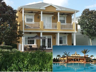 Photo for Luxury Golf Front 4BR/4.5BA Pool Home, near Disney and much more!