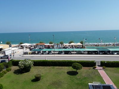 Photo for Apartment with direct access to the sea in Marcelli