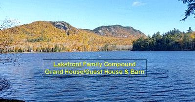Photo for Maine Writer's Private Compound:  GRAND HOUSE  and  GUEST HOUSE SEE: VIDEO TOUR