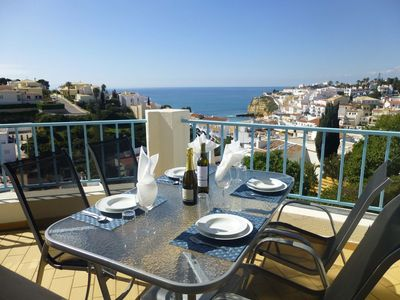 Photo for NEW Casa Eva Sol Vista - stunning sea, beach & village view 2 bedroom apartment