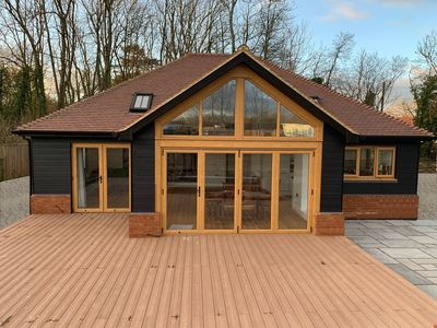 Photo for Modern, newly built, luxury bungalow located in a rural part of Kent.