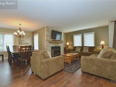 Photo for Large, modern, ground floor condo, steps to the Village ...