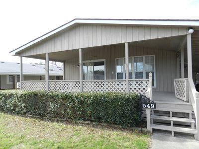 2 bedroom home in beach community and perfect family vacation location.