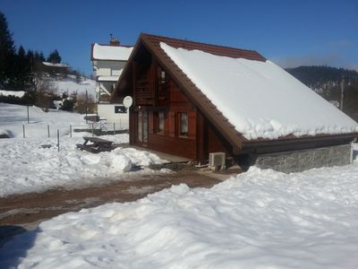 Photo for Vosges chalet for 4 to 6 people