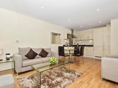 Photo for Condo near Canary Wharf w/ WiFi, Fireplace, Complex Business Center & Concierge