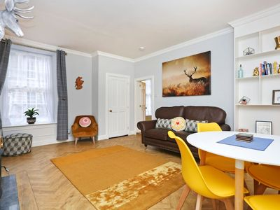 Photo for Ideal for Self-isolation: Vibrant Ground Floor Apt w/ Private Entrance