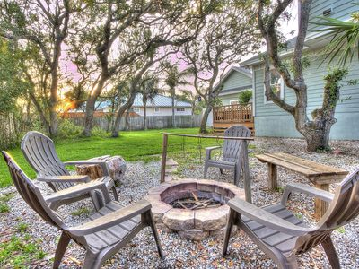 Photo for Spacious home w/ a full kitchen, furnished patio, & yard - near a private beach