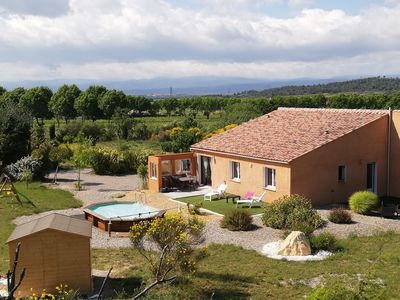 Photo for Gite 6 prs with terrace, garden and swimming pool.