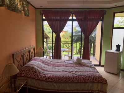 Photo for Excellent Room with perfects views of the Lake and Volcano from the Lodge