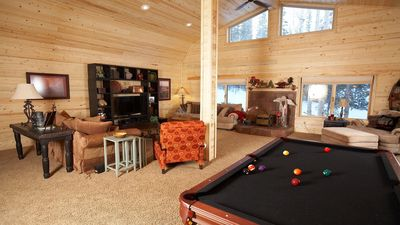 Photo for Two Large Mountain Cabins - on one forested acre!