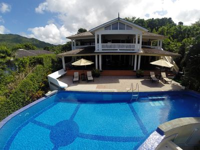 Photo for The Marigot Sun Villa-With your own infinity pool*