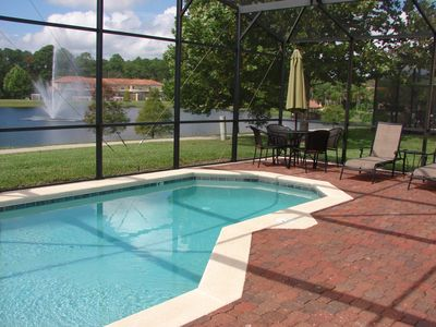 Photo for Private HEATED SALT POOL - LAKEVIEW~Encantada Resort~Themed - Wi-Fi - 4 mi WDW