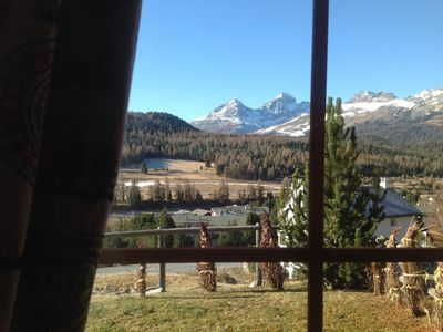 Photo for Beautiful apartment in the heart of the Engadine