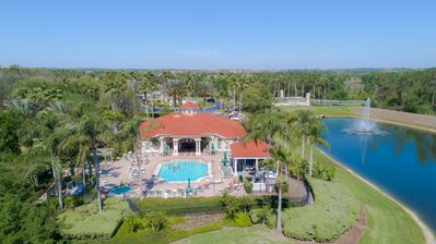 Photo for Luxury Chateau Styled Villa/7 bedroom/Pool/5-Star Resort/3 miles to Disney
