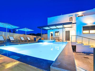 Photo for Perla Bianca Villa with Jacuzzi & Swimming Pool