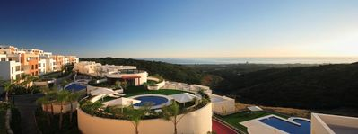 Photo for Vacation in Peaceful Mountain Top Marbella Luxury Penthouse With Panoramic View