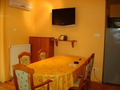 Photo for Modern apartment in Siófok from beach 120m, free WIFI & air-conditioner, pool