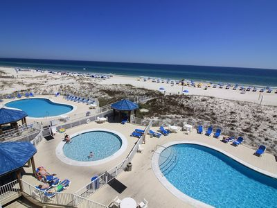 Beaches Are Back Open! Check Out Our New Rates!1 BR 2 BA,  Nice, Gulf Front Condo, Sugar Sands  SB345E