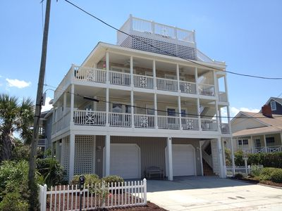 Photo for Wrightsville Beach ~ Only 2 Houses from the Oceano