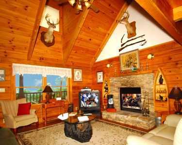 Photo for Mountain Cabin retreat, quiet setting, private community