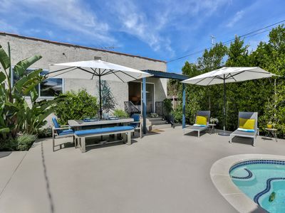 Photo for Pool and Spa ---Best WeHo.Location---Walk to Melrose Shopping and Restaurants