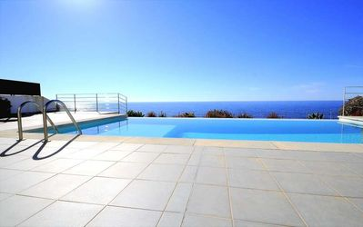 Photo for Villa in 1st Line of the Sea in Cala Pi- Private Pool- BBQ- Sea views. Air Conditioning. Children welcome. -68350- - Free Wifi